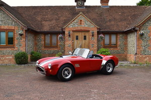 1986 AC Cobra MkIV RHD with incredibly rare factory hardtop For Sale