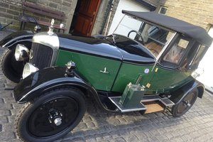 1925 AC Royal 11.9hp 4-cylinder Two-Seat and Dickey For Sale