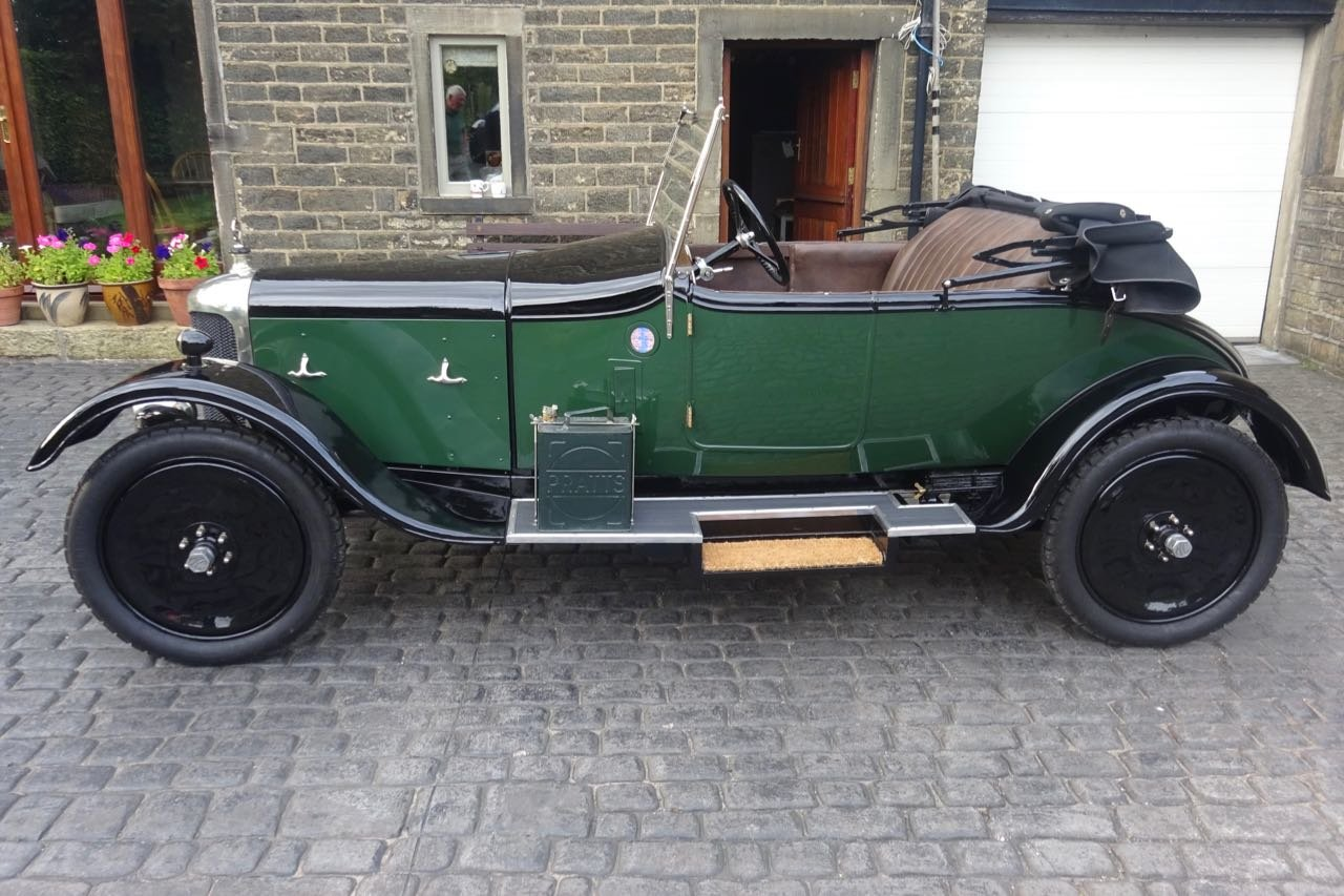 1925 AC Royal 11.9hp 4-cylinder Two-Seat and Dickey For Sale (picture 2 of 6)