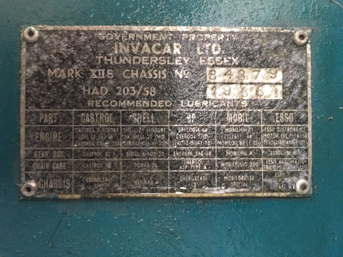 1962 Ultra rare AC Invacar 1966 SOLD (picture 5 of 6)