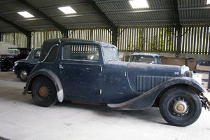 1933 AC coupe