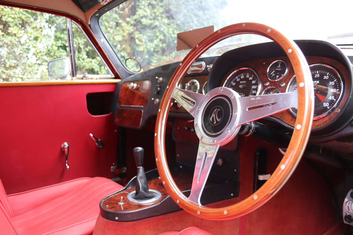 1960 AC Aceca - 29k Miles, Excellent Thames Ditton History  For Sale (picture 8 of 23)