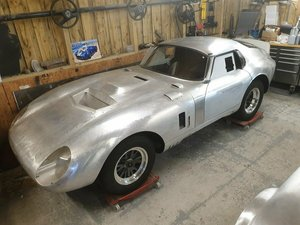 1965 Ac cobra 289 daytona coupe (aluminium body) For Sale