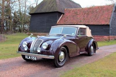1948 AC 2-Litre Drophead Coupe