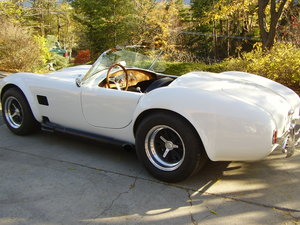 1959 Very nice Arntz Cobra.  Jag E-type rear supension & MG front