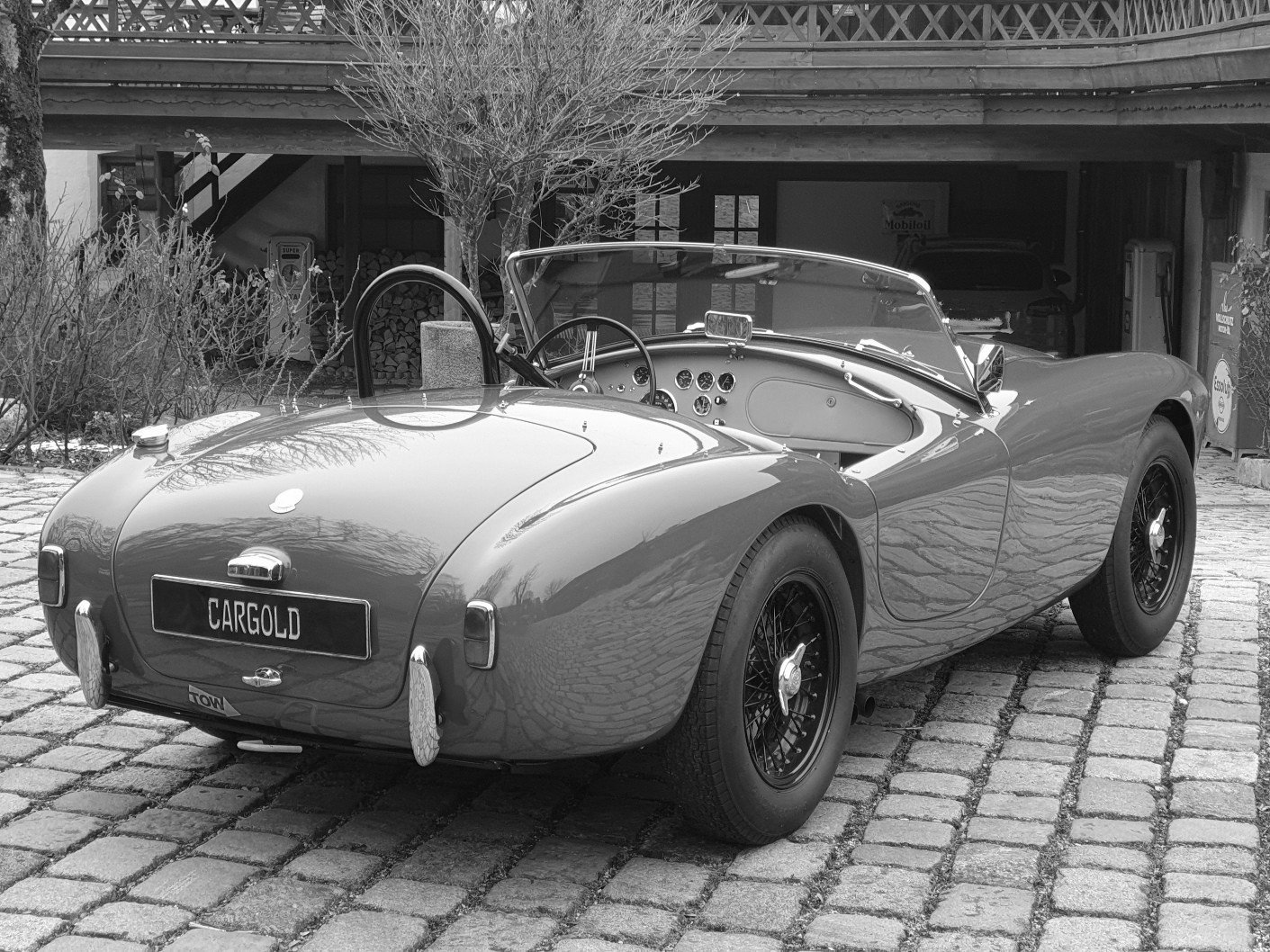 1957 AC ACE Bristol, Matching No., orig. LHD! For Sale (picture 2 of 6)