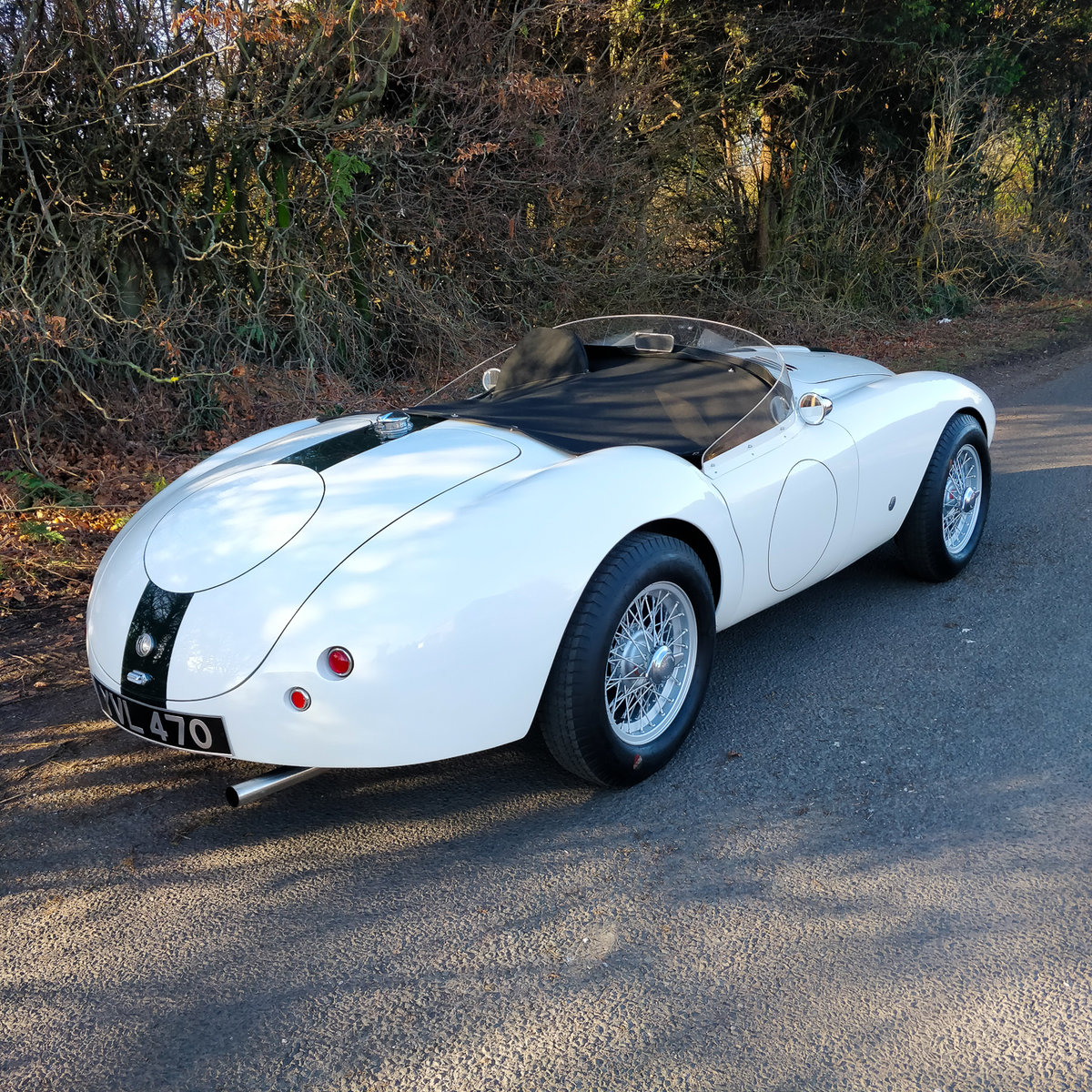 1948 AC BARCHETTA LX820 - ONE OF ONE IN THE WORLD For Sale (picture 2 of 6)