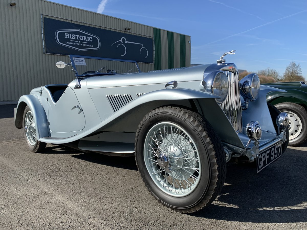 1938 AC 16/80 Competition Sports Short Chassis SOLD (picture 1 of 6)