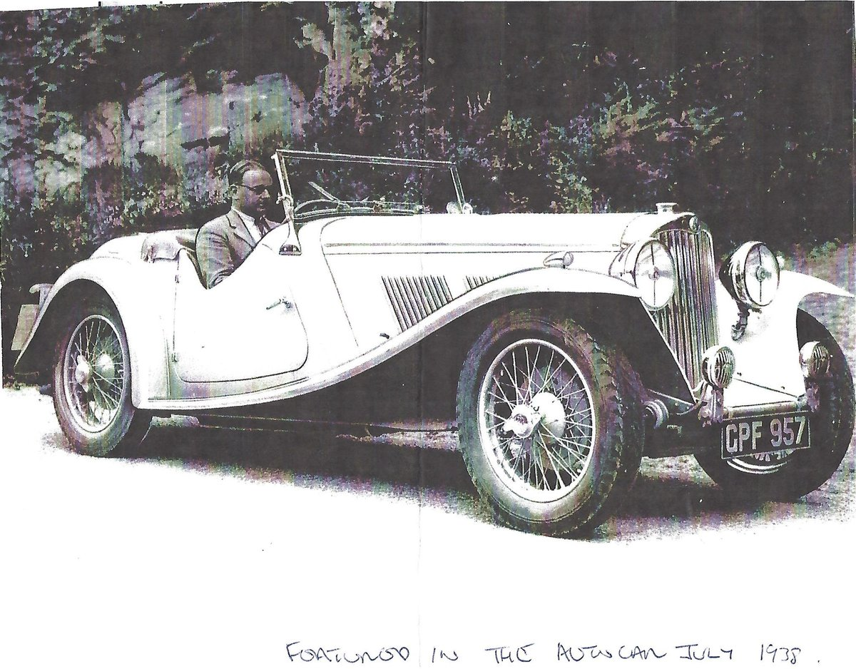1938 AC 16/80 Competition Sports Short Chassis SOLD (picture 3 of 6)