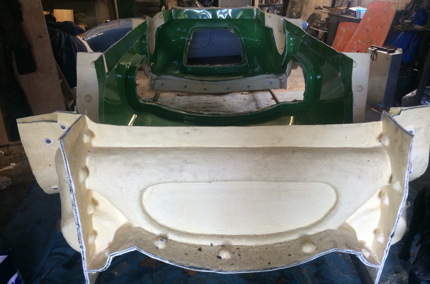 1958 AC Ace Bristol Fibreglass mould  For Sale (picture 4 of 5)