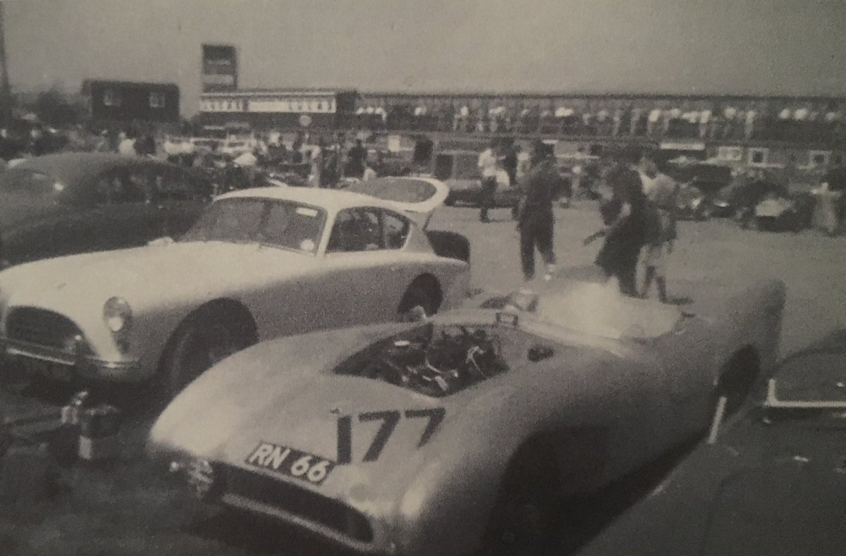 1955 AC Aceca Bristol (period race history 1963) For Sale (picture 1 of 6)