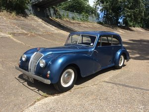 1951 AC Two Litre Saloon lovely patina throughout