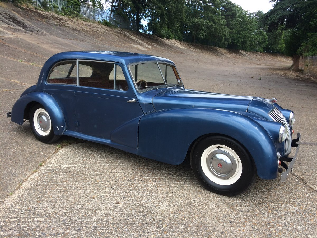1951 AC Two Litre Saloon lovely patina throughout  For Sale (picture 3 of 6)