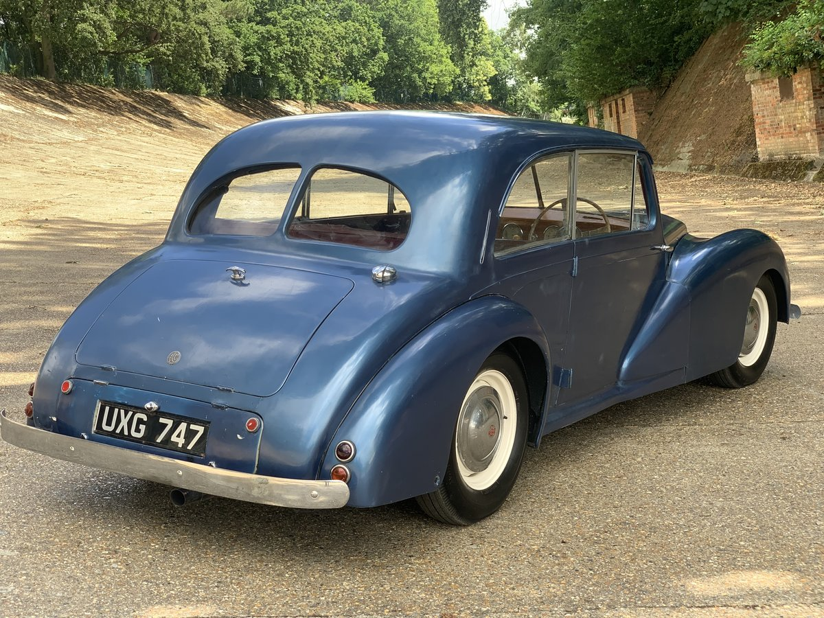 1951 AC Two Litre Saloon lovely patina throughout  For Sale (picture 4 of 6)