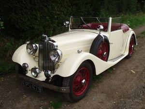 1936 A.C. 16/70 2-seat Drop-head Coupe with dickey seat