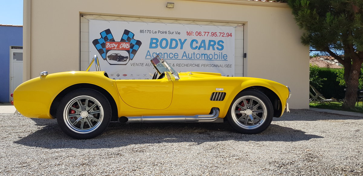 AC COBRA SHELBY FORD V8 5.7 USA 450CV