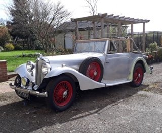 1936 AC 16/70 4 seat drop head coupe For Sale (picture 1 of 3)