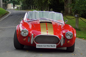 Picture of 2006 AC Cobra Hire | near to the Yorkshire Dales For Hire
