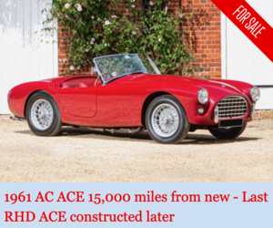 Picture of 1961 AC Ace 15000 from new - many special parts For Sale