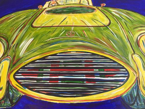 Limited edition signed and numbered print: 1969 AC Cobra  For Sale (picture 3 of 6)