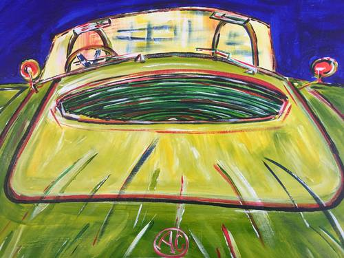 Limited edition signed and numbered print: 1969 AC Cobra  For Sale (picture 4 of 6)