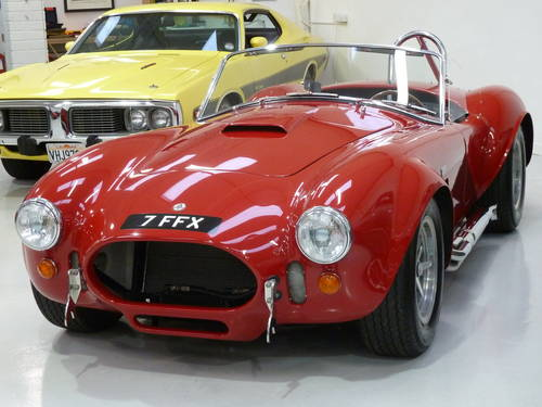 1966 Cobra 427 MK III SC Specification + Genuine 427 Engine For Sale (picture 1 of 6)