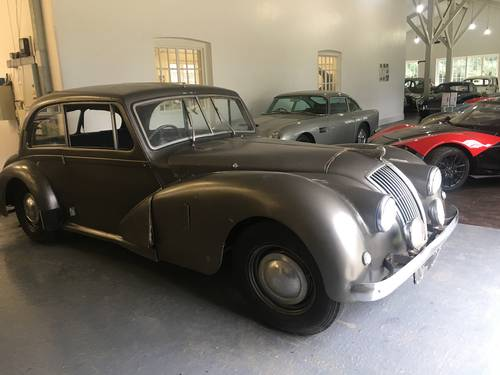 AC Works Prototype 1950 Two Litre Saloon For Sale (picture 6 of 6)
