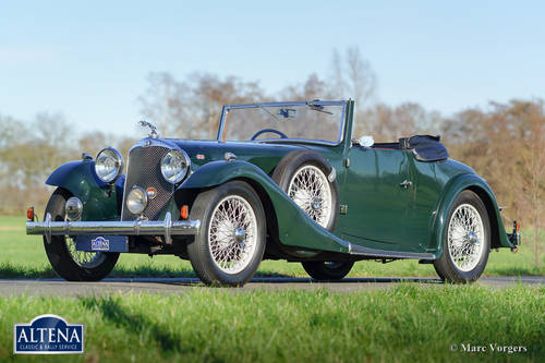 """AC """"ACE"""" 16/66 Two-seater Drophead Coupe, 1935 For Sale (picture 1 of 6)"""