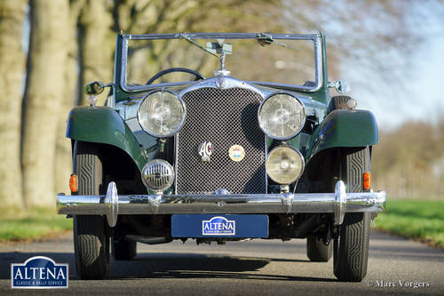 """AC """"ACE"""" 16/66 Two-seater Drophead Coupe, 1935 For Sale (picture 2 of 6)"""