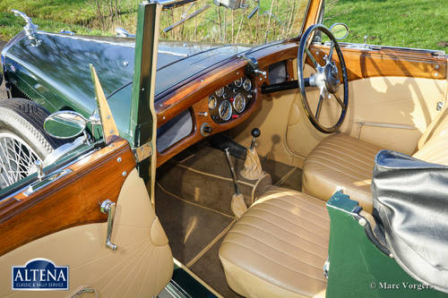 """AC """"ACE"""" 16/66 Two-seater Drophead Coupe, 1935 For Sale (picture 3 of 6)"""