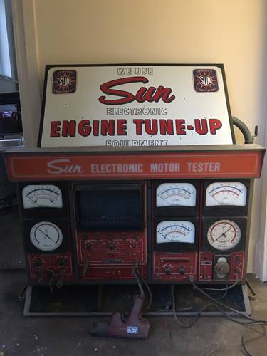 1968 AC CARS LTD Thames Ditton Service Dept. Sun Tune Engine Test For Sale (picture 1 of 3)