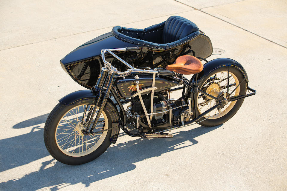 1922 ACE WITH FLXI OBSERVER SIDECAR - GS GROUP For Sale (picture 1 of 6)