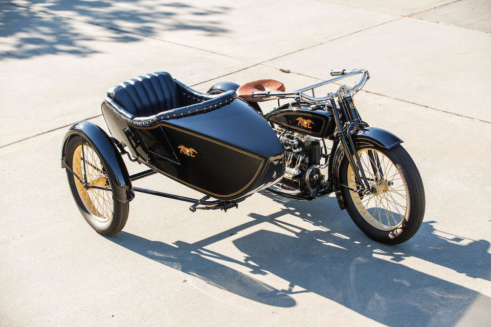 1922 ACE WITH FLXI OBSERVER SIDECAR - GS GROUP For Sale (picture 2 of 6)