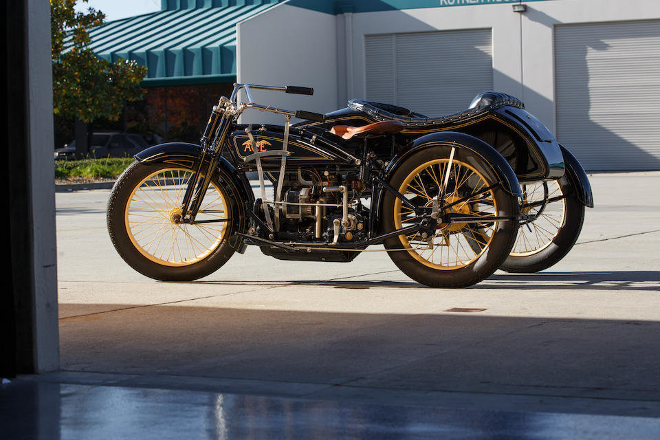1922 ACE WITH FLXI OBSERVER SIDECAR - GS GROUP For Sale (picture 3 of 6)