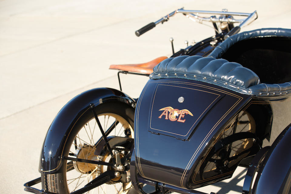 1922 ACE WITH FLXI OBSERVER SIDECAR - GS GROUP For Sale (picture 4 of 6)