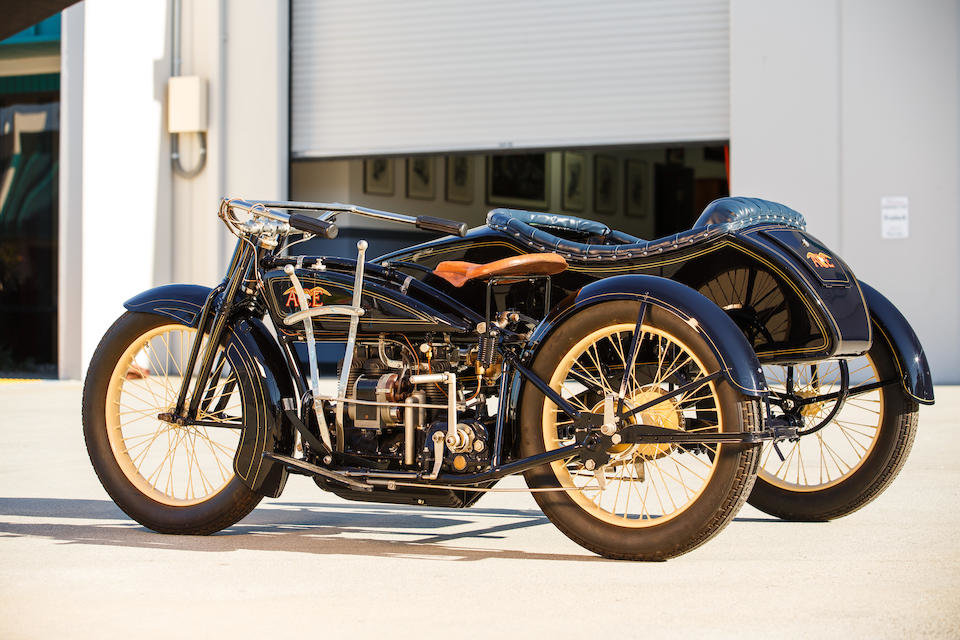 1922 ACE WITH FLXI OBSERVER SIDECAR - GS GROUP For Sale (picture 5 of 6)