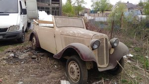 1938 Adler Trumpf Junior convertible for sale