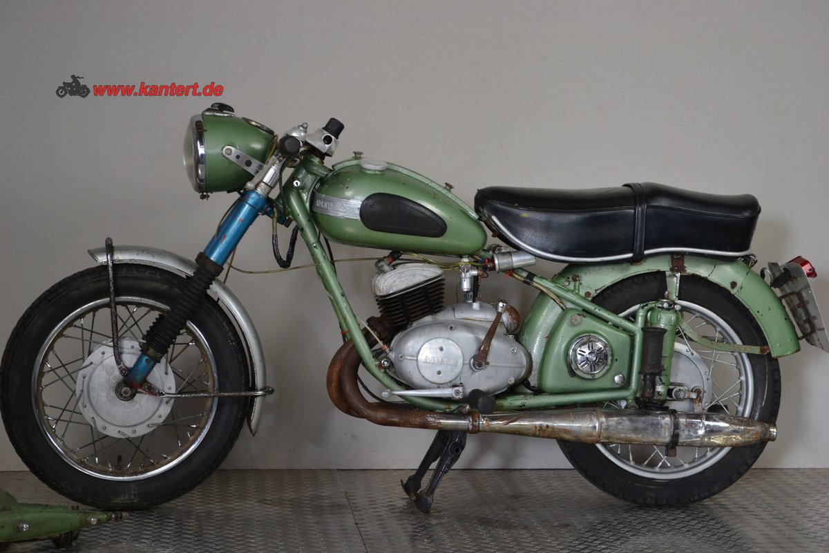 1953 Adler M 250, 247 cc, 16 hp to restore For Sale (picture 1 of 6)