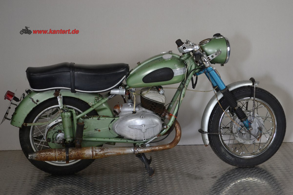 1953 Adler M 250, 247 cc, 16 hp to restore For Sale (picture 2 of 6)