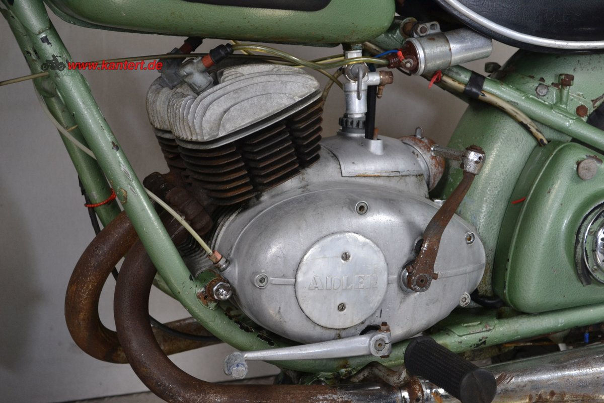 1953 Adler M 250, 247 cc, 16 hp to restore For Sale (picture 4 of 6)