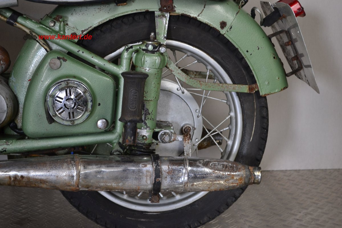 1953 Adler M 250, 247 cc, 16 hp to restore For Sale (picture 5 of 6)