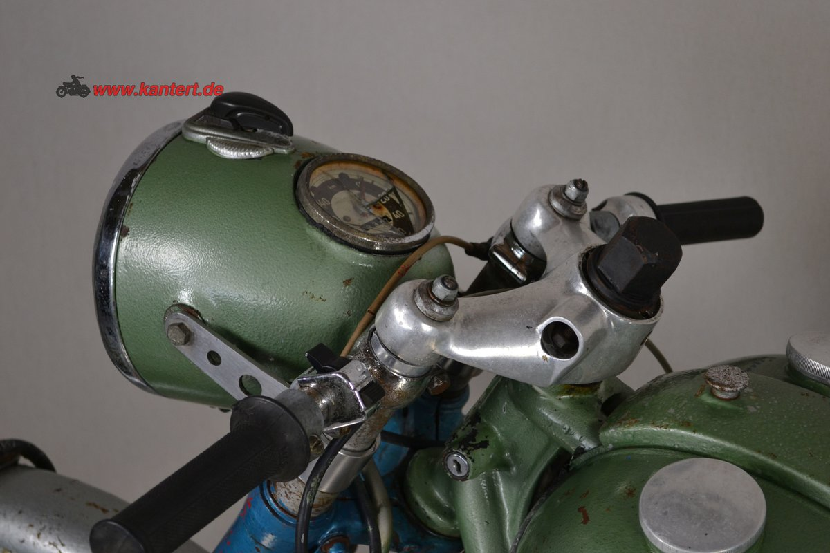 1953 Adler M 250, 247 cc, 16 hp to restore For Sale (picture 6 of 6)