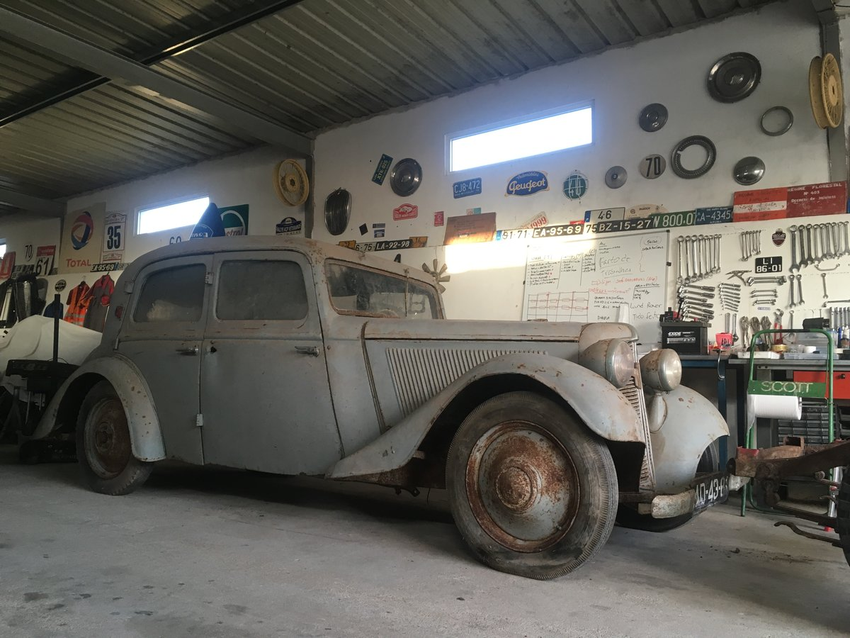 1935 Trumph Junior Limousine 1º owner Very rare Adler  For Sale (picture 5 of 6)