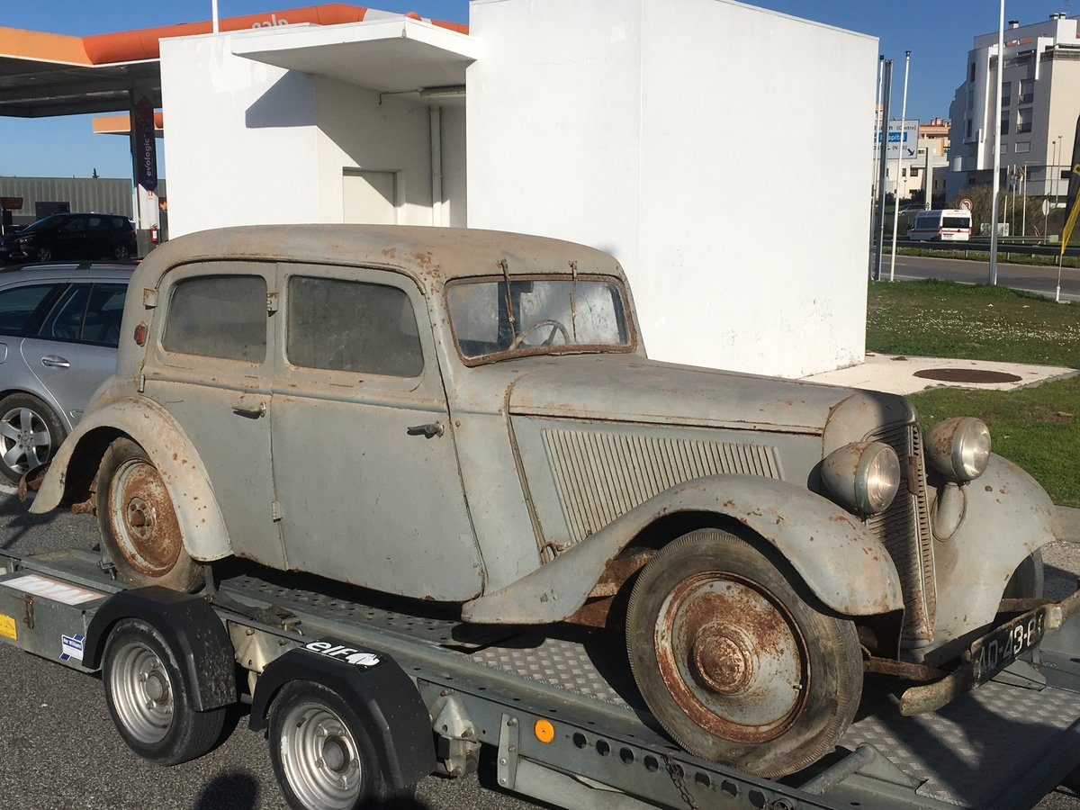 1935 Trumph Junior Limousine 1º owner Very rare Adler  For Sale (picture 6 of 6)