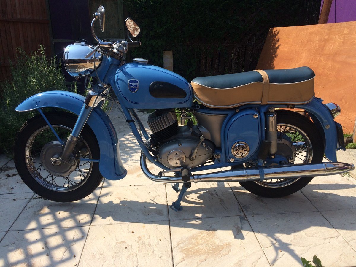 1958 Adler favourit MB 250   For Sale (picture 2 of 6)