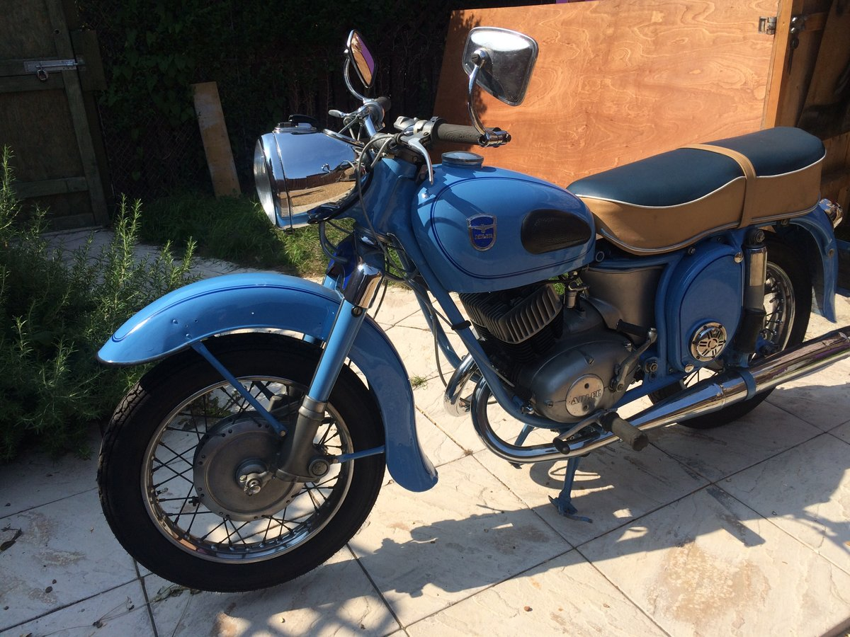 1958 Adler favourit MB 250   For Sale (picture 6 of 6)