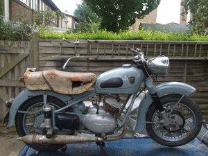 1956 Adler MB250 for restoration. Complete & solid