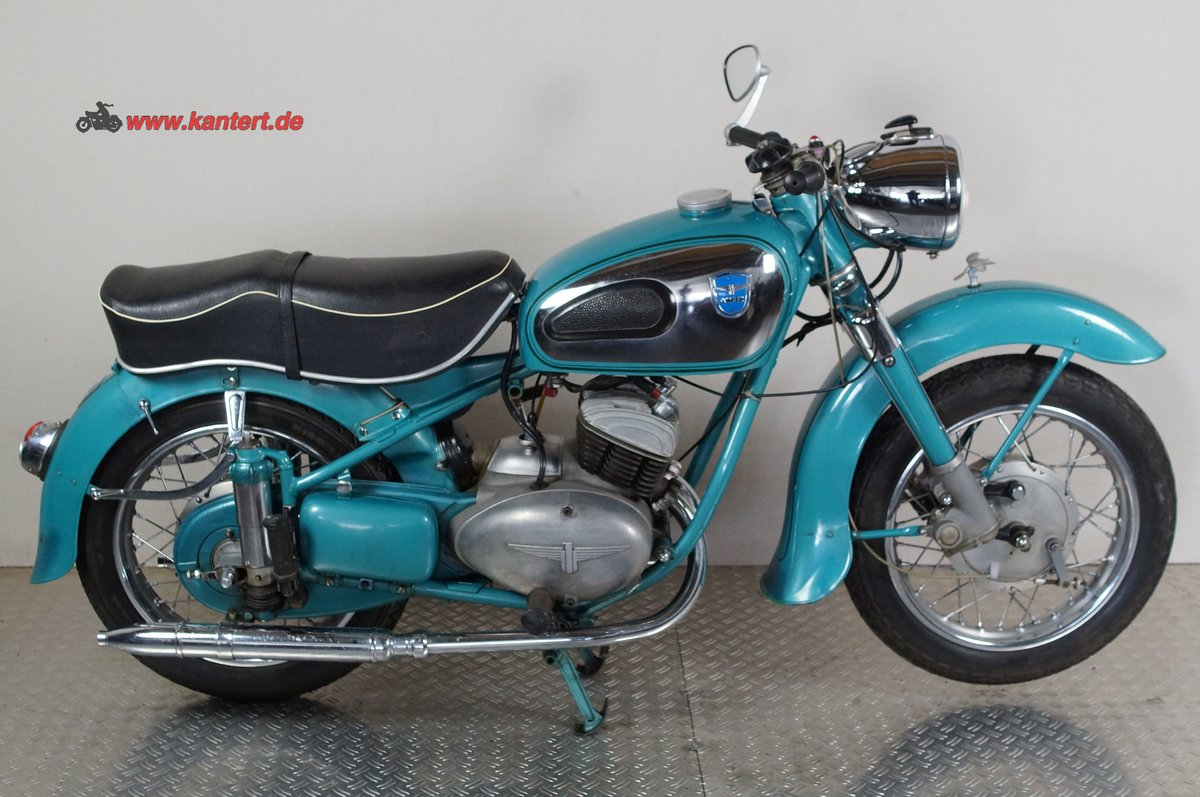 1954 Adler MB 200, 195 cc, 11 hp For Sale (picture 1 of 12)