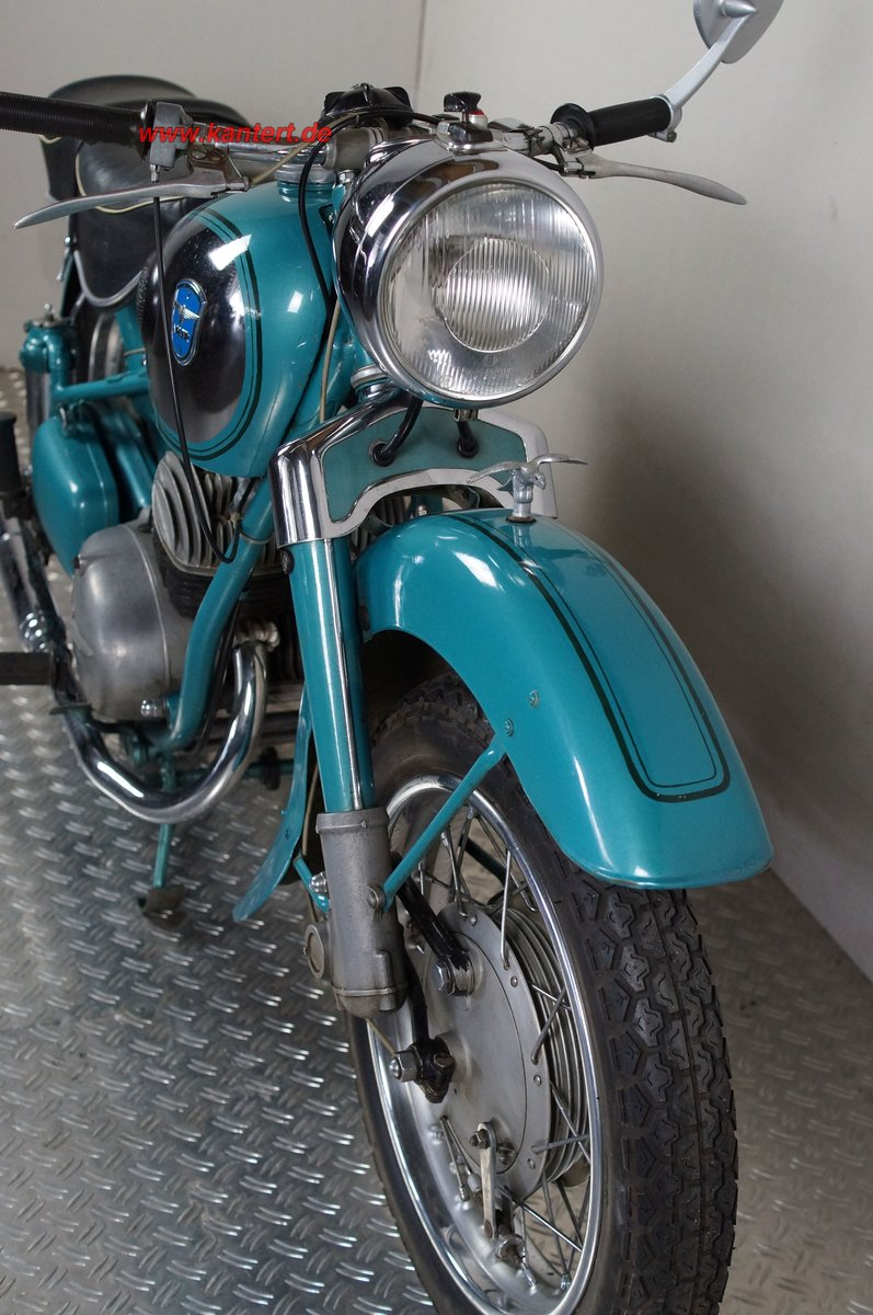 1954 Adler MB 200, 195 cc, 11 hp For Sale (picture 3 of 12)