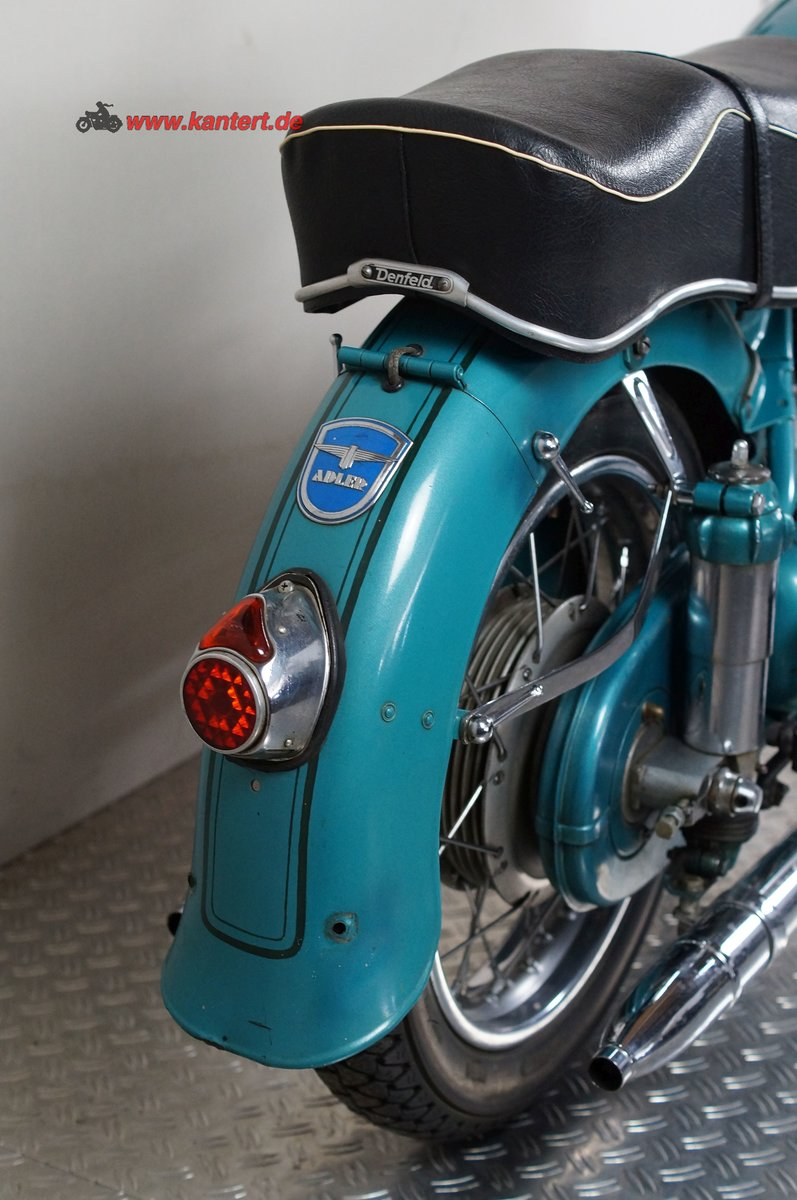 1954 Adler MB 200, 195 cc, 11 hp For Sale (picture 4 of 12)